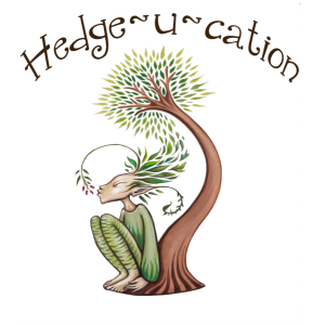Hedge-u-cation (text), pixie, tree