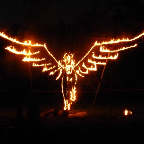 Ceremonial Fire Horse